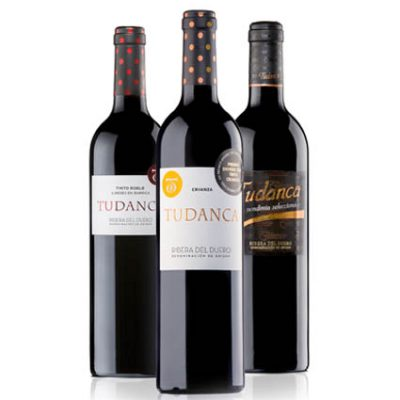 Pack 1 botella de Tudanca Crianza, Tudanca Roble y Tudanca Vendimia Seleccionada