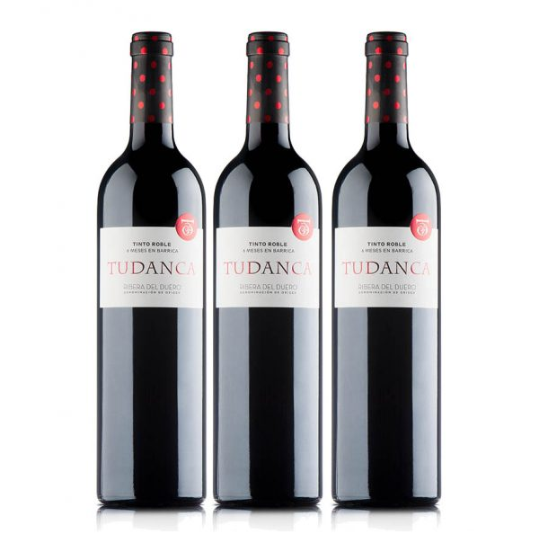 Pack de 3 botellas de TUDANCA ROBLE