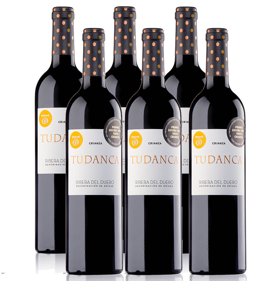 Pack de 6 botellas de TUDANCA CRIANZA