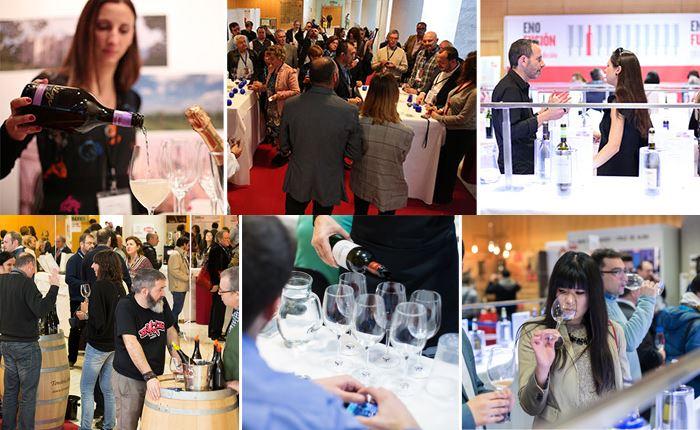 """Enofusión 2018. Enofusión, el Congreso Internacional del Vino, celebró su octava edición durante los días 22, 23 y 24 de enero de 2018 en el Palacio Municipal de Congresos de Madrid, en el contexto de la XVI Cumbre Gastronómica Reale Seguros Madrid Fusión. En esta ocasión, El Centro del Vino acogió 18 catas, hubo 16 actividades enológicas en el Wine Corner, estuvieron presentes más de 60 marcas de vino en las Expobodegas y se pudieron catar más de 200 referencias en el Enobar. Todo ello dispuesto para los 10.000 profesionales que visitan cada año Madrid Fusión. En El Centro del Vino, además de catar nuevas referencias, volver a disfrutar con etiquetas emblemáticas y descubrir nuevas armonías, se pusieron sobre la mesa los temas más actuales en torno a la viticultura y la enología: el respeto por la vid y el patrimonio enológico, el cuidado de la tierra y el entorno, minimizar la intervención del viñedo, la recuperación y puesta en valor de variedades autóctonas, la influencia del cambio climático en el sector del vino y cómo reducir su impacto y avance, o la importancia de las historias que hay detrás de cada vino, entre otros temas. La cata inaugural corría a cargo de Marqués de Riscal, defendiendo las elaboraciones que obtiene de sus viñedos más antiguos. En este sentido, defendían la importancia de conservar el patrimonio genético, así como limitar la intervención en el viñedo, siempre que sea posible. Le siguió la D.O. Ribeira Sacra. En esta cata quisieron unir la expresión de los vinos a un mensaje y a un recuerdo, pues al final """"es lo que va a quedar en la memoria del consumidor para repetir en un futuro"""". A continuación, la Diputación de Toledo ofreció una armonía con productos de caza donde se puso de relieve la importancia del vino para potenciar la gastronomía de cada zona. También armonizada, la D.O.C. Prosecco, que ha triplicado sus ventas en España, superando al champán, presentó sus espumosos unidos a las tapas de Mauro Elli (del restaurante con una Es"""